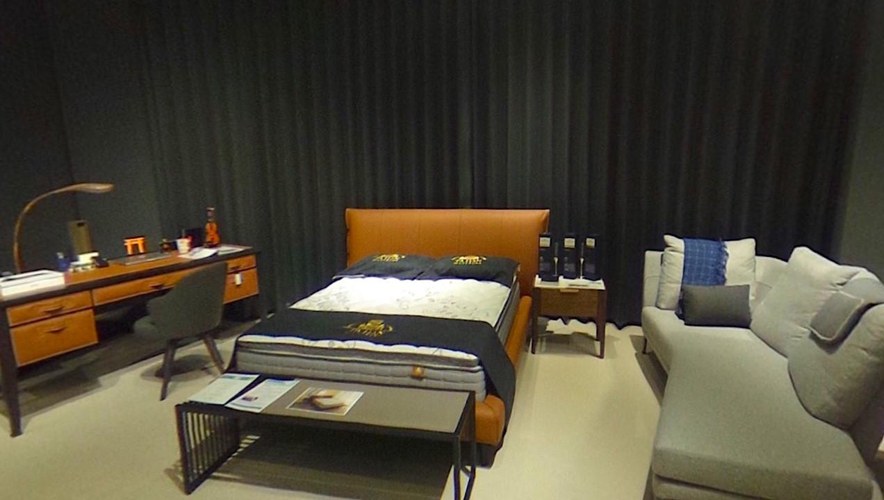 圖一、擁有寬敞家具展示空間的大漢家具新竹概念館提供客製化家具服務