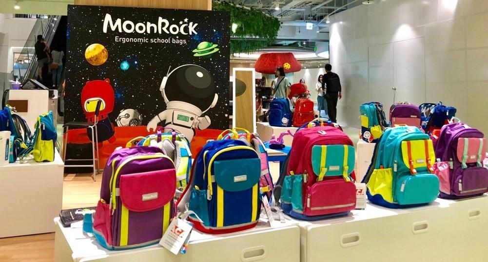 圖三、透過官網與直營專櫃所購買的「MoonRock 夢樂護脊書包」皆有認證