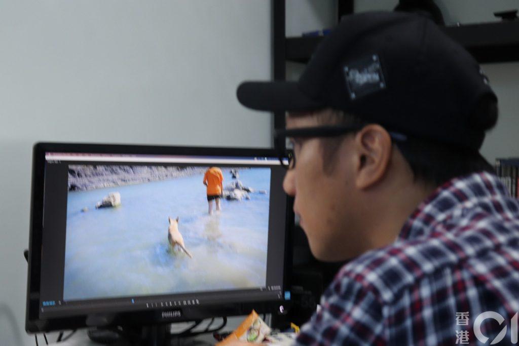 身為當地旅遊達人的 Neil,除了建立旅遊網站,亦經常拍攝影片,在 YouTube 分享台灣生活文化。(李穎霖 攝)