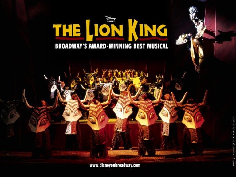 迪士尼必看經典音樂劇《獅子王》