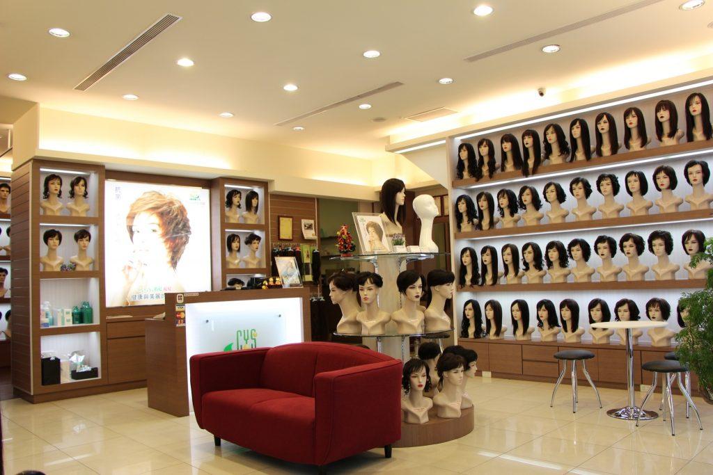 圖一、「C.Y.S. 假髮接髮」以專利研發和頂級手藝打造好口碑